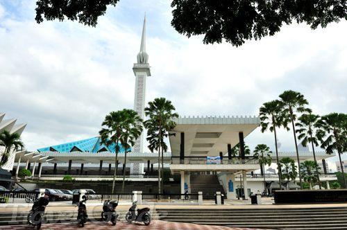 クアラルンプール半日観光 国立モスク