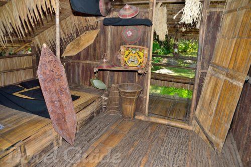 ルンダヤ族の家
