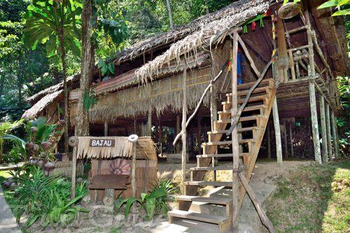 バジャウ族の家